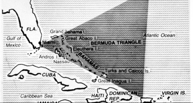 دلیل ناپدید شدن هواپیماها در مثلث برمودا روشن شد